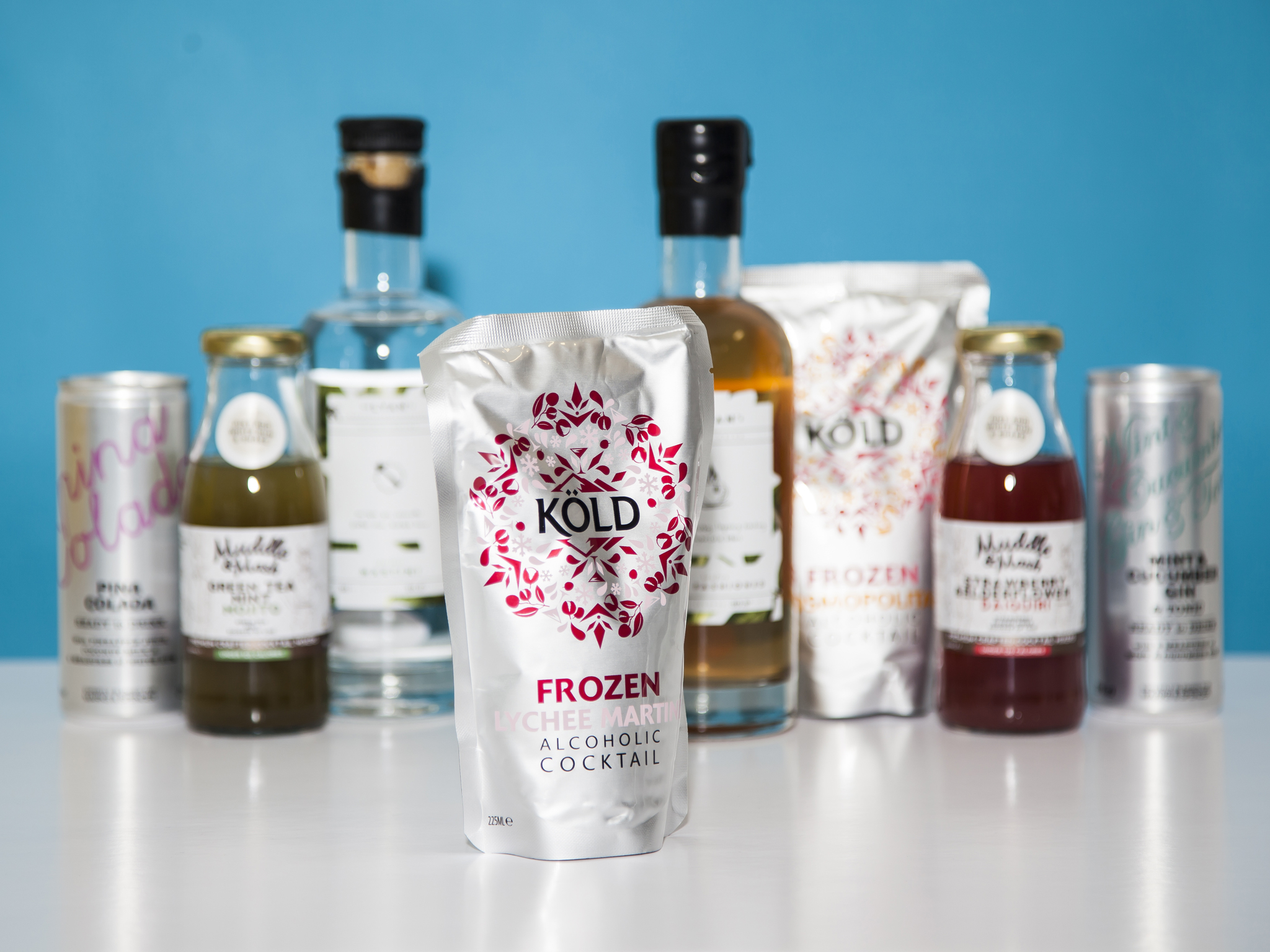 best pre-mixed cocktails, Kold frozen lychee marini