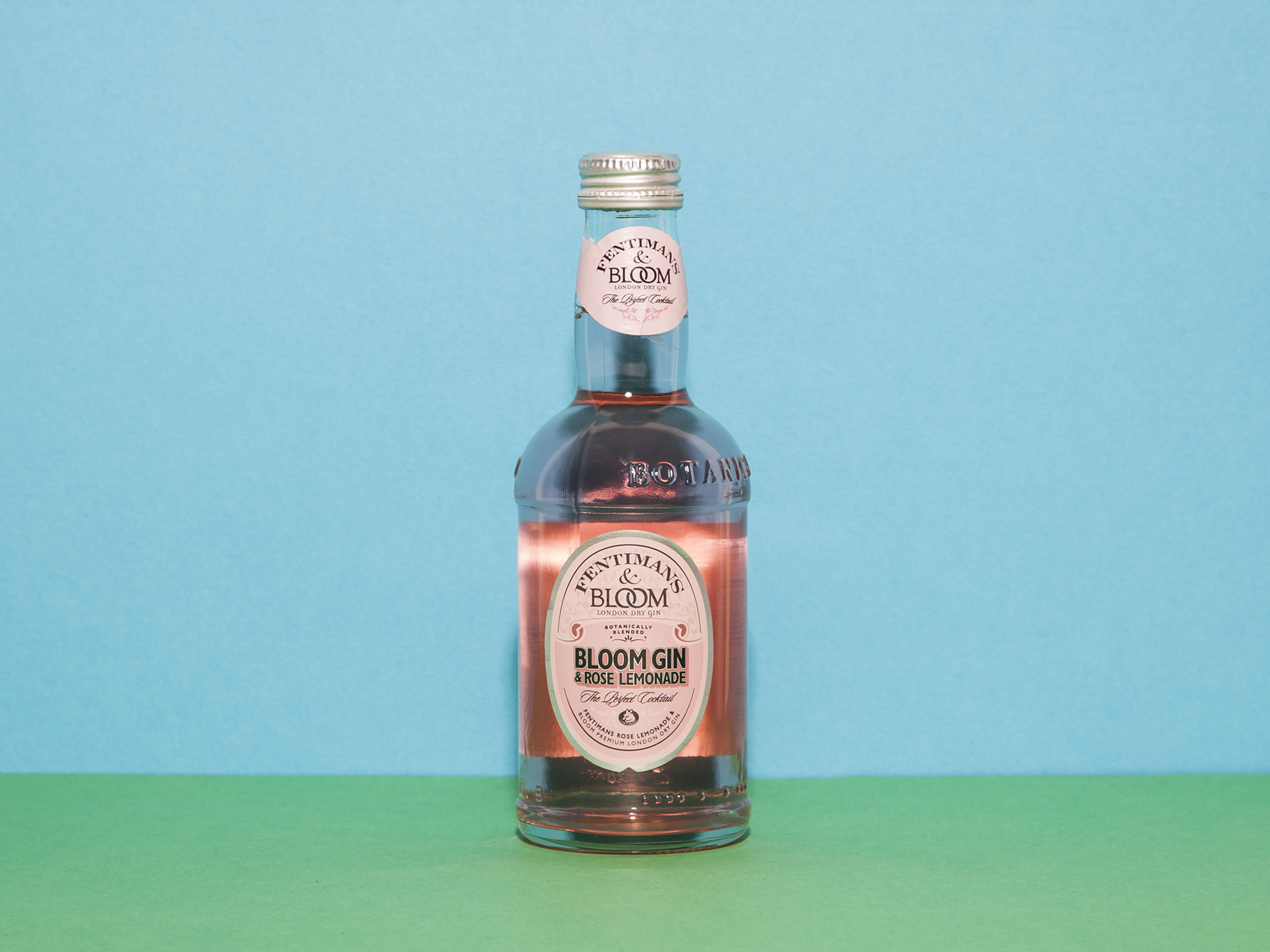 the best pre-mixed cocktails, bloom gin and fentimans rose lemonade