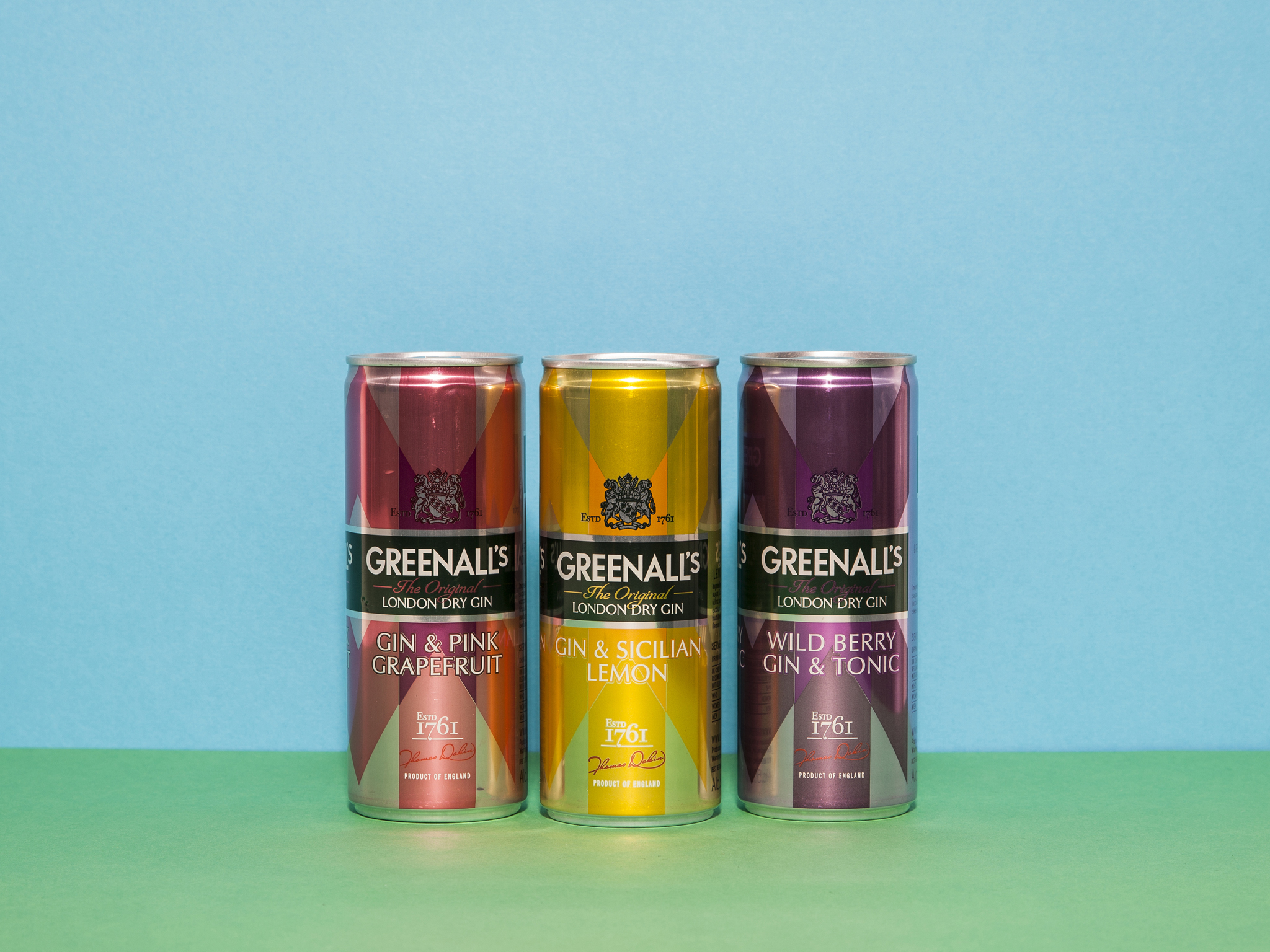 best pre-mixed cocktails, greenalls gin and sicilian lemonade