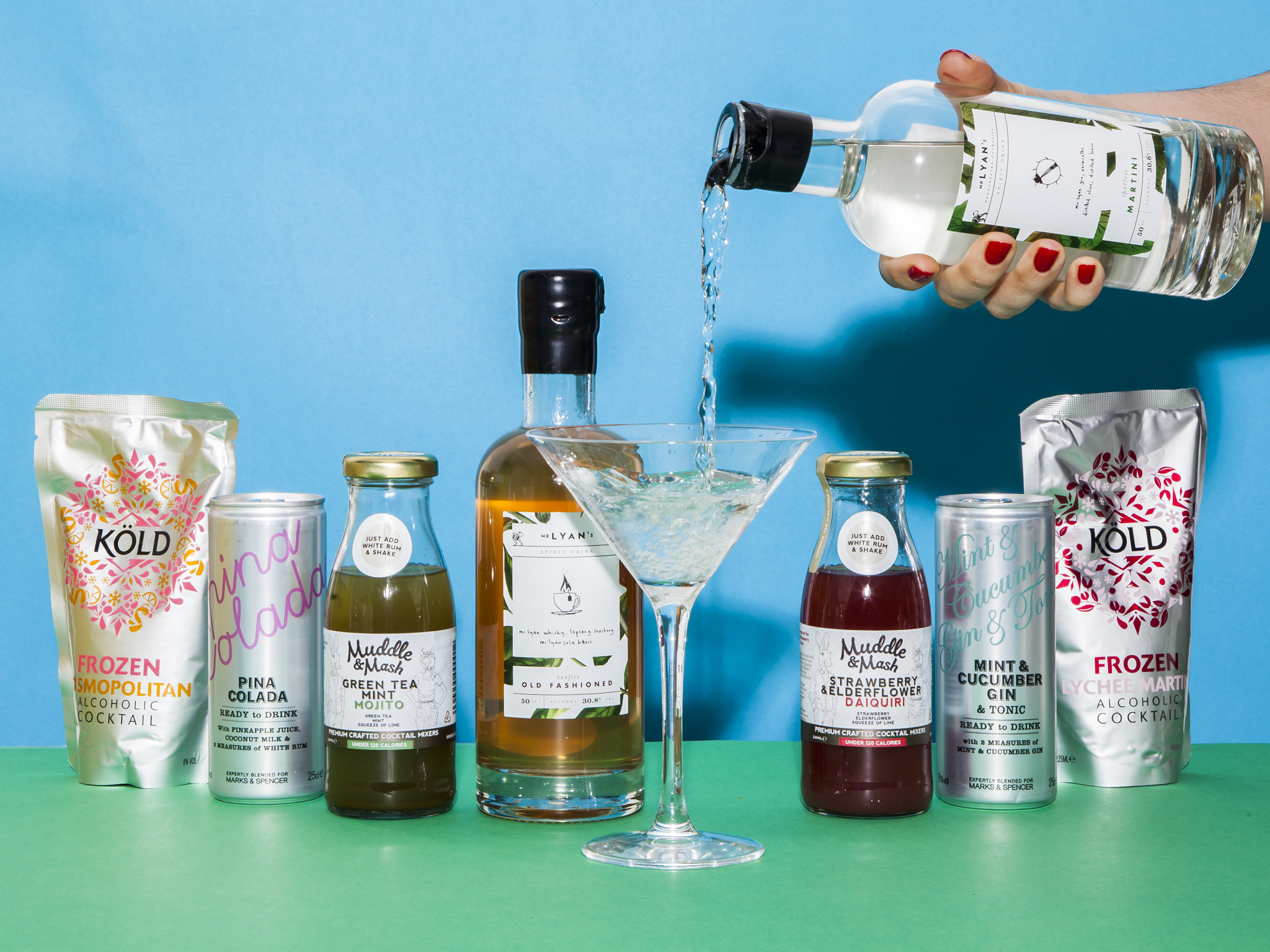 The best pre-mixed cocktails