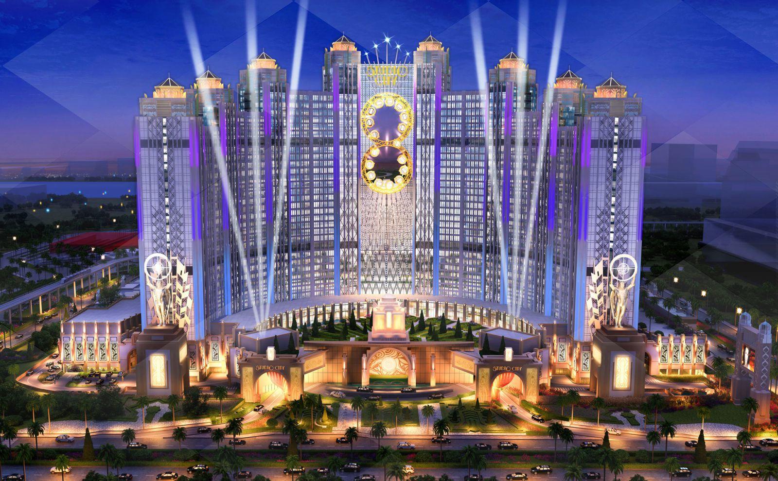 Studio City Macau – exterior