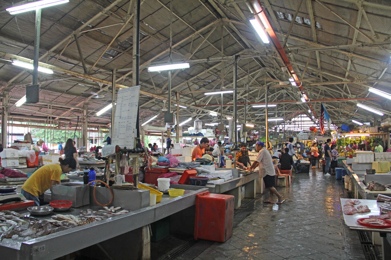 Pulau Tikus wet market