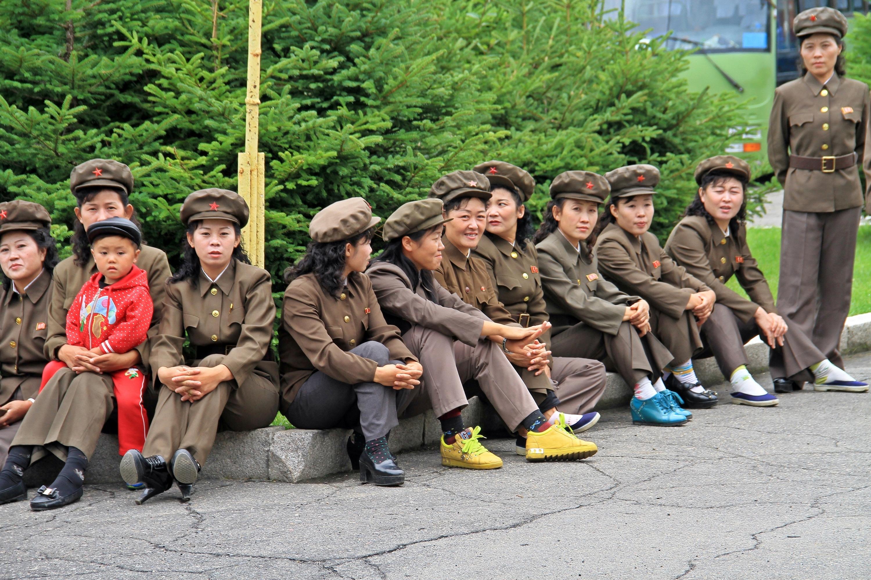 北朝鮮からのInstagram