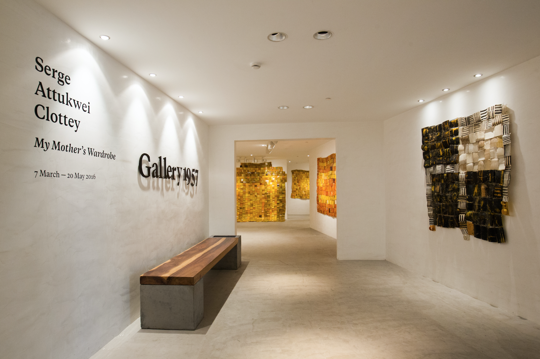 Go contemporary at Gallery 1957