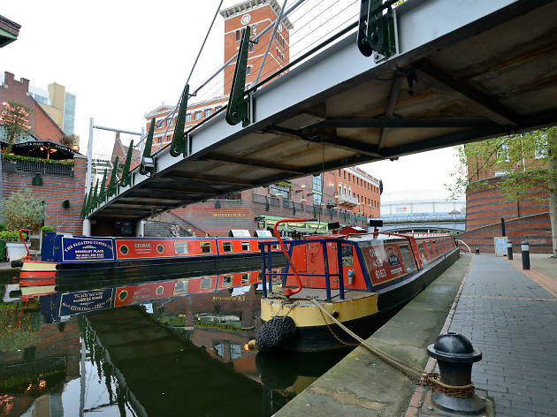 canal trip, barge
