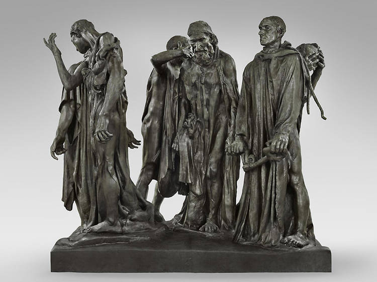 Auguste Rodin, The Burghers of Calais, 1894–85