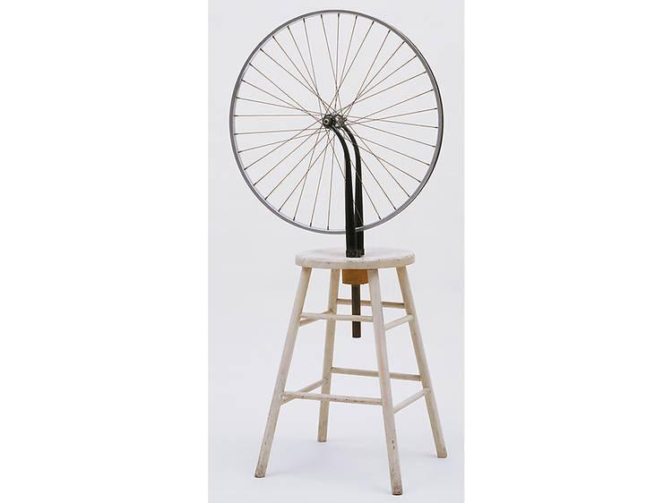 Duchamp, Bicycle Wheel, 1913