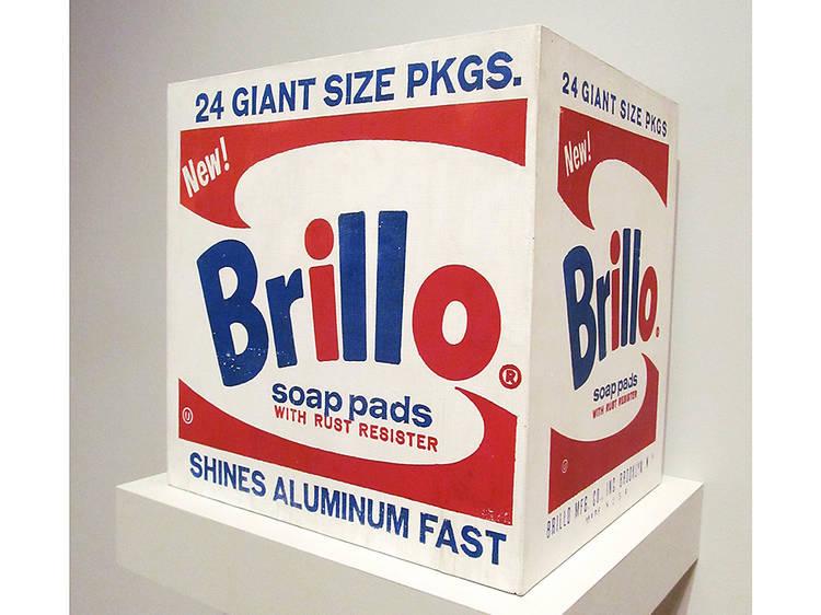 Andy Warhol, Brillo Box (Soap Pads), 1964