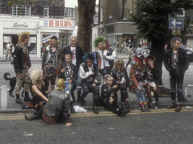 Punks en London