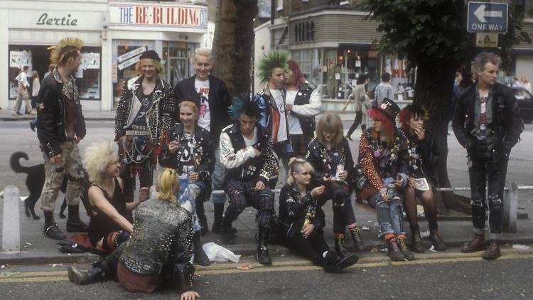 Punks en London