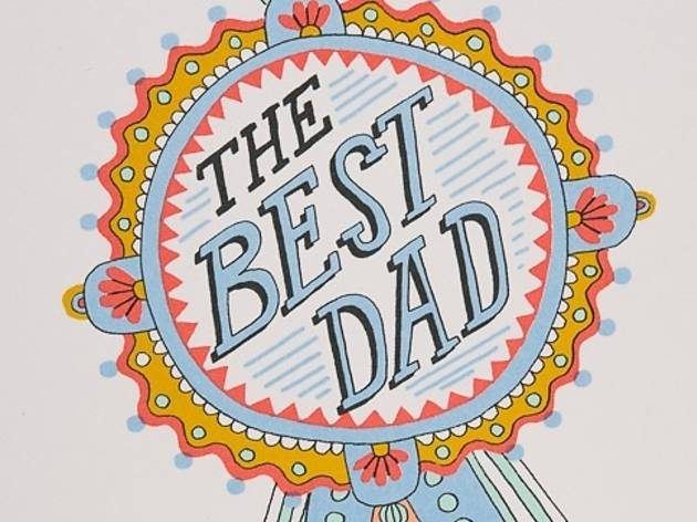 "Red Cap Cards ""Dad Medal"" Father's Day card"