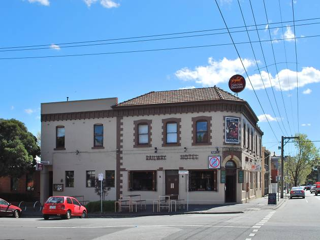 Railway Hotel in South Melbourne