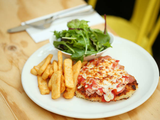 Design your own parma and you could have it featured on the Duke's menu