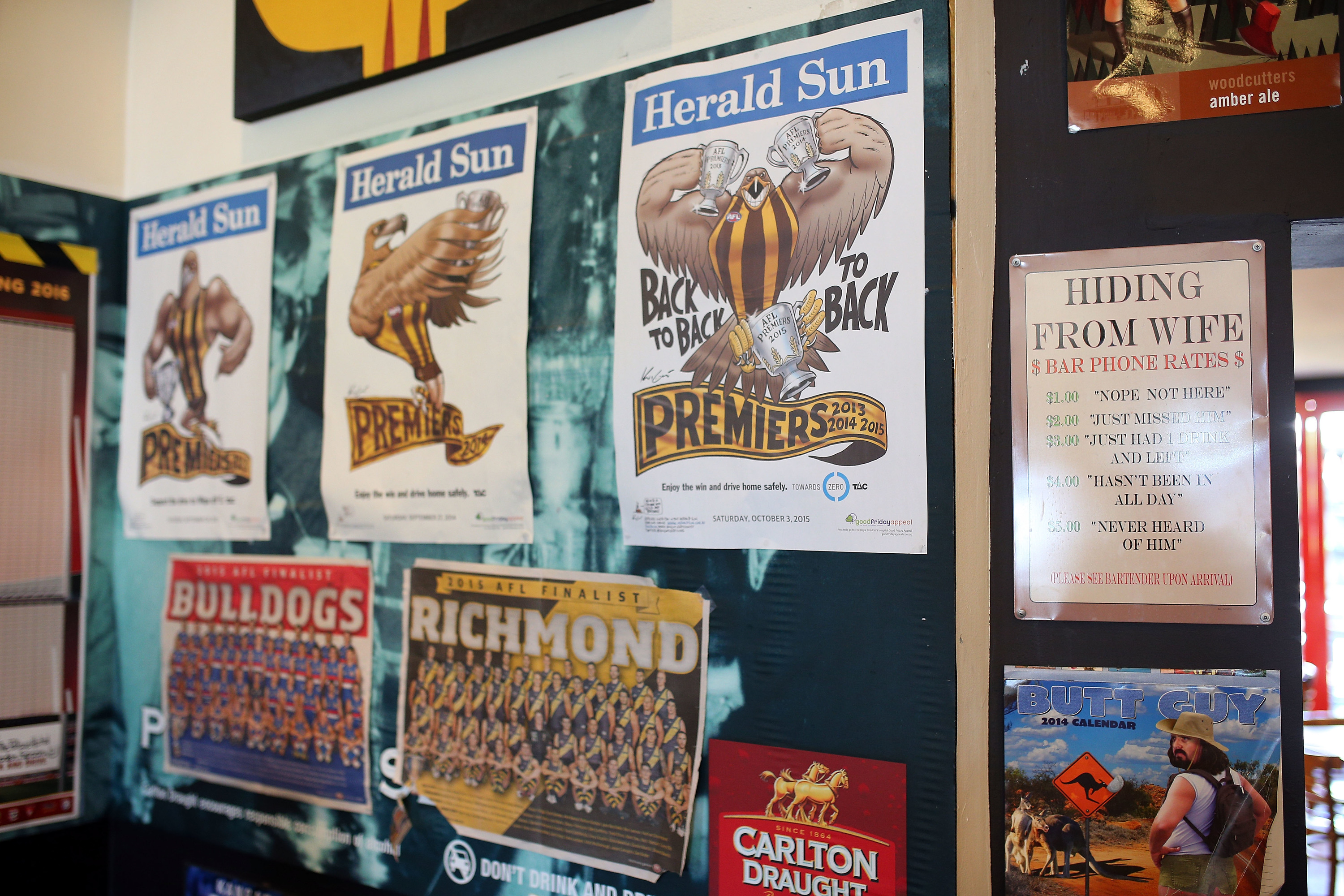 The best bars for the AFL finals