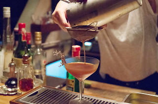 A drink by the mixologist and owner of Teens of Thailand
