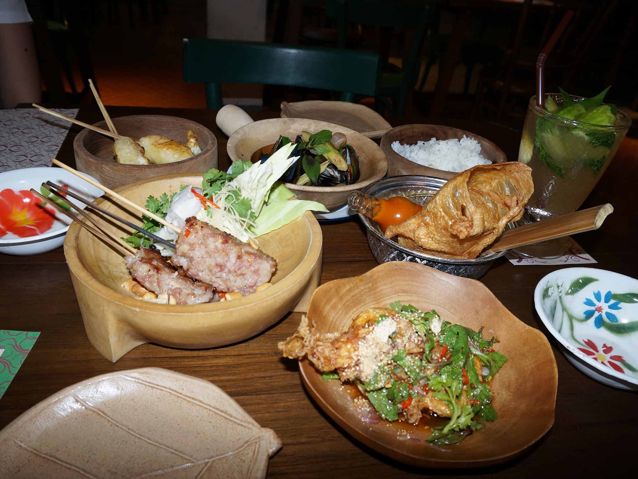 Thai-style meal