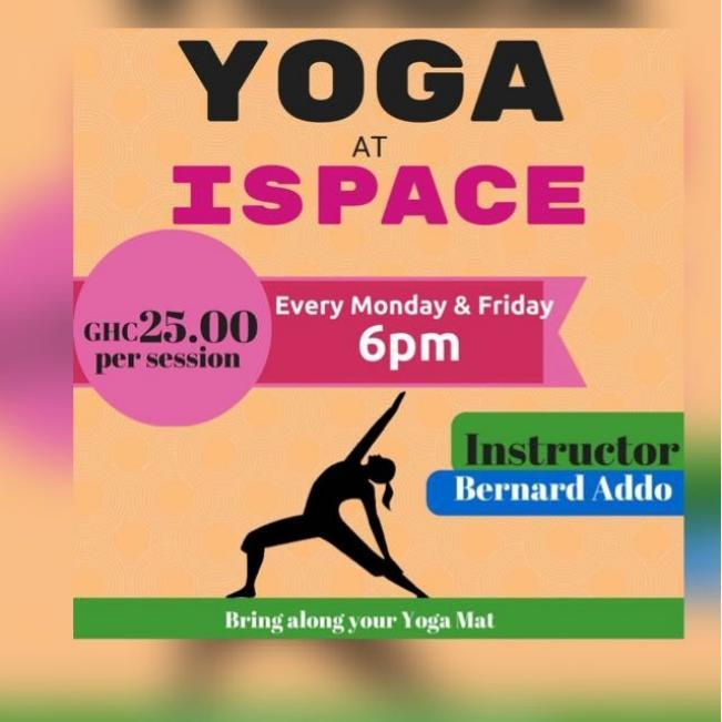 Yoga At Ispace