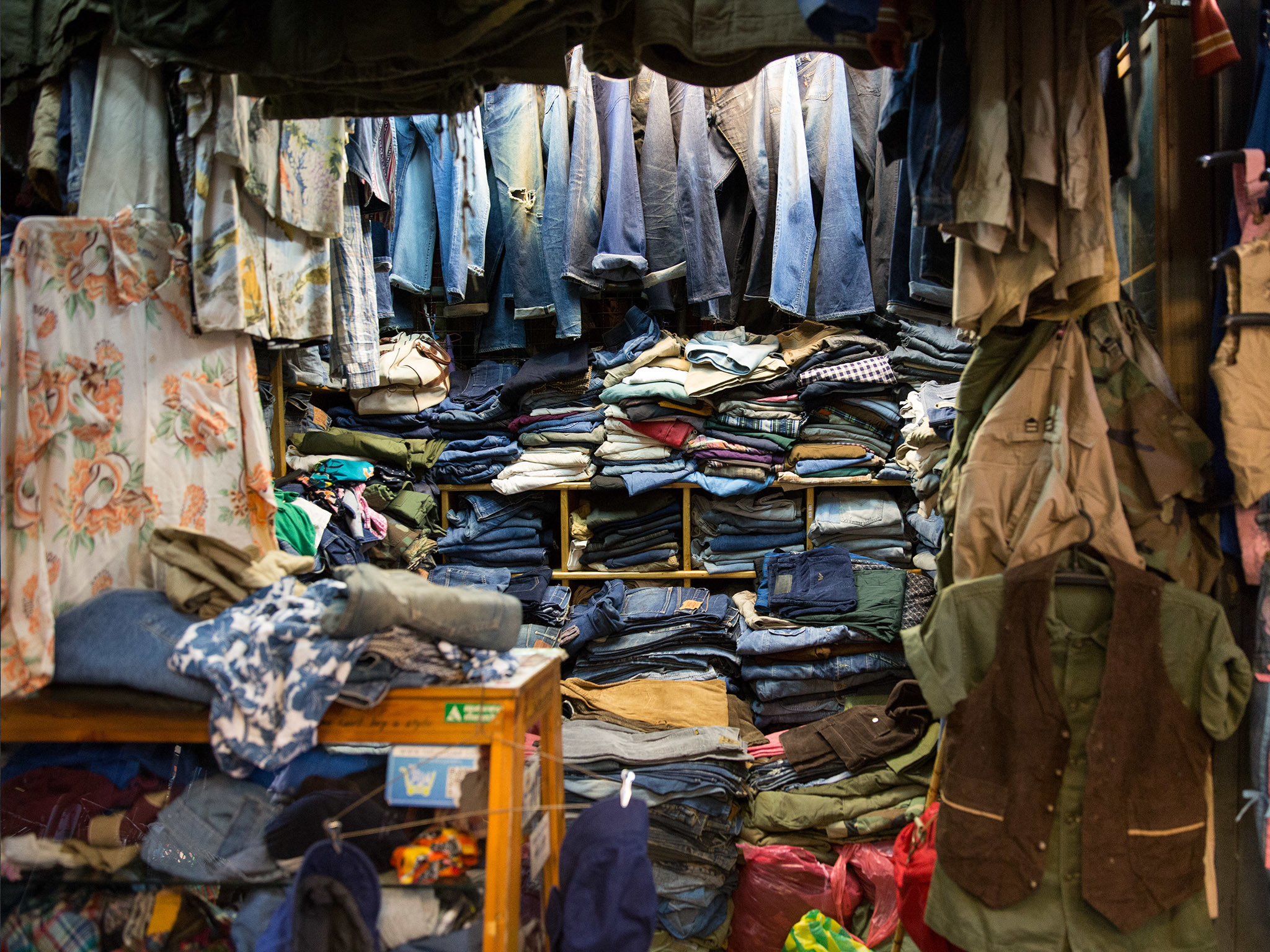 Plenty of jeans at Bung Lee