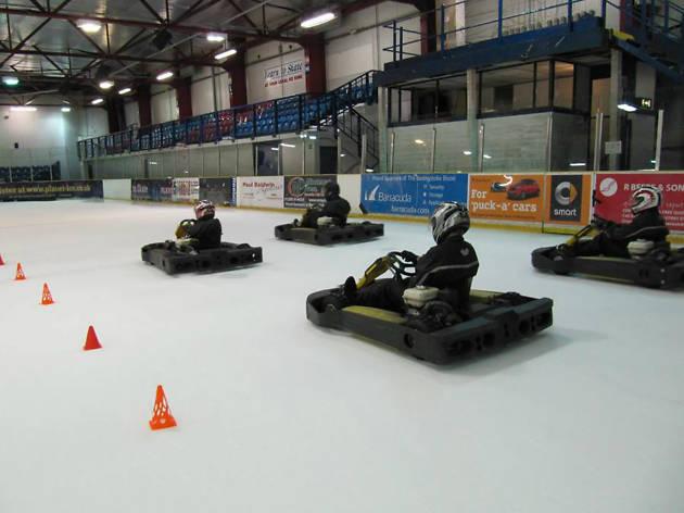 go karting on ice