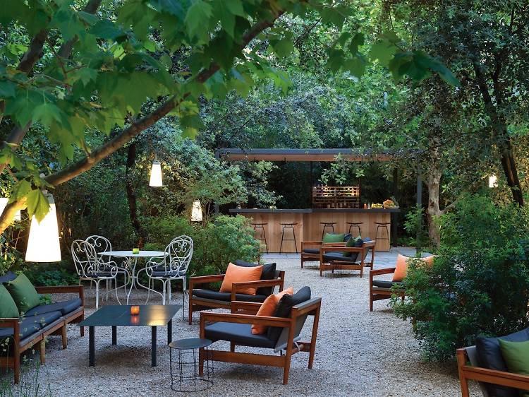 El jardí de l'Alma