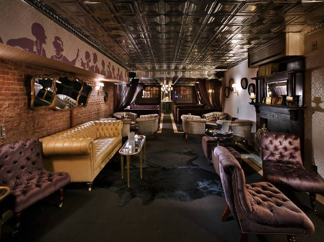 Get the royal treatment at the Raines Law Room