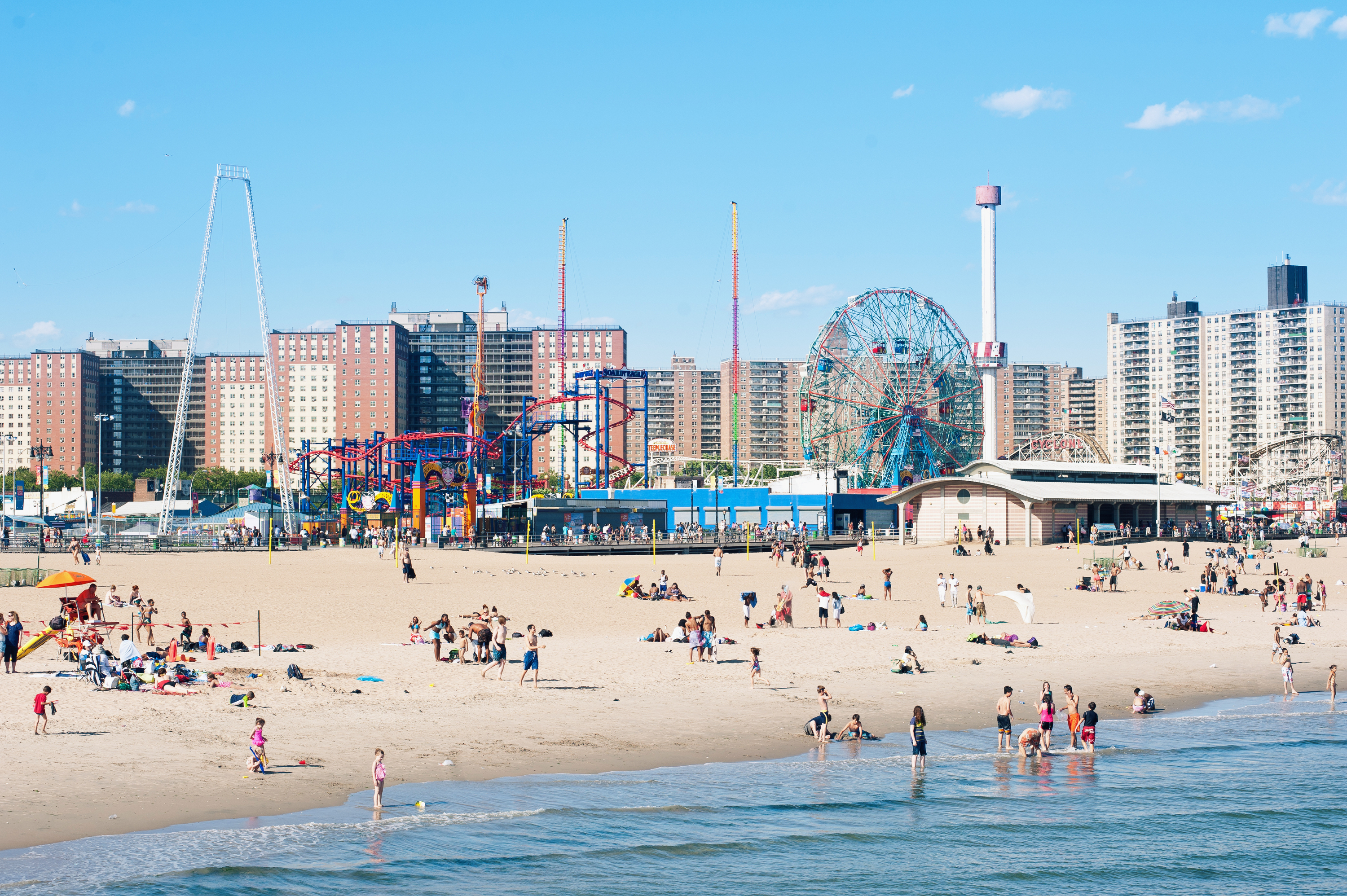 Coney Island officially opens for the season this weekend