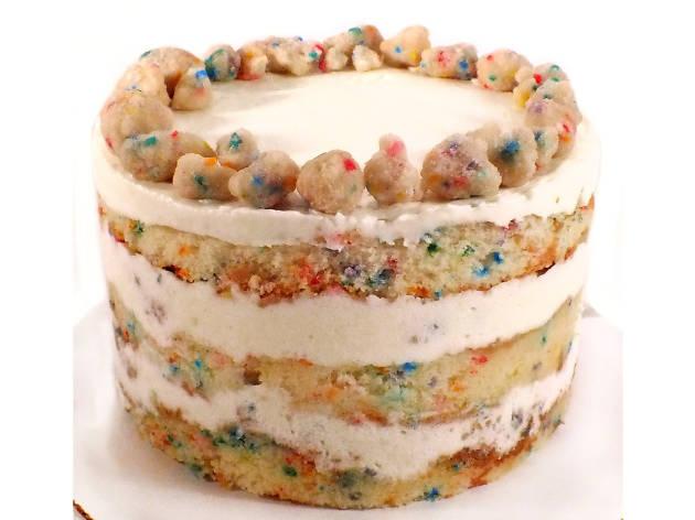 Birthday Cake at Milk Bar (6-inch cake for $42), Milk Bar,  Birthday Cake at Milk Bar