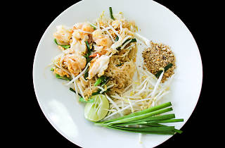 Pad Thai at Coconut Palm