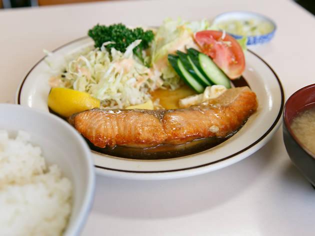 磯野家『生鮭バター焼き定食』