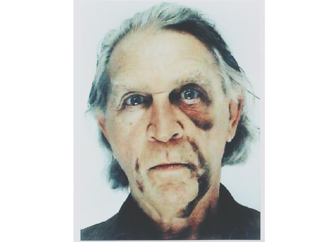 Autoretrat amb ull de vellut i contusions, de Jimmie Durham