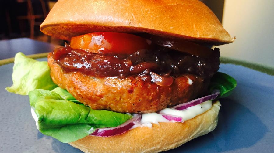 London's best veggie burgers, Bukowski Grill, 2016