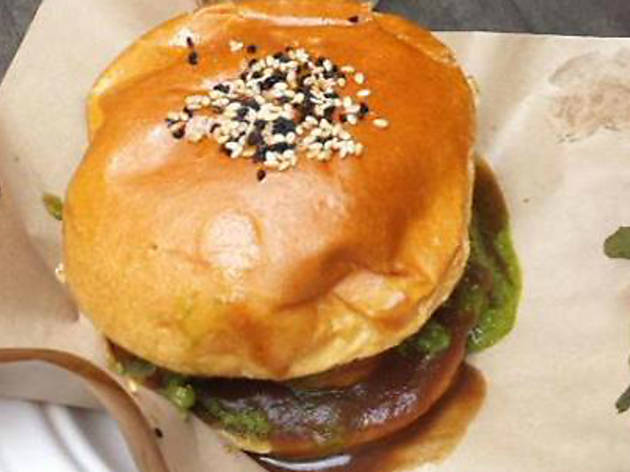 London's best veggie burgers, Devi's, 2016