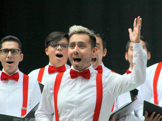 Concierto del Coro Gay en la Ciudad de México
