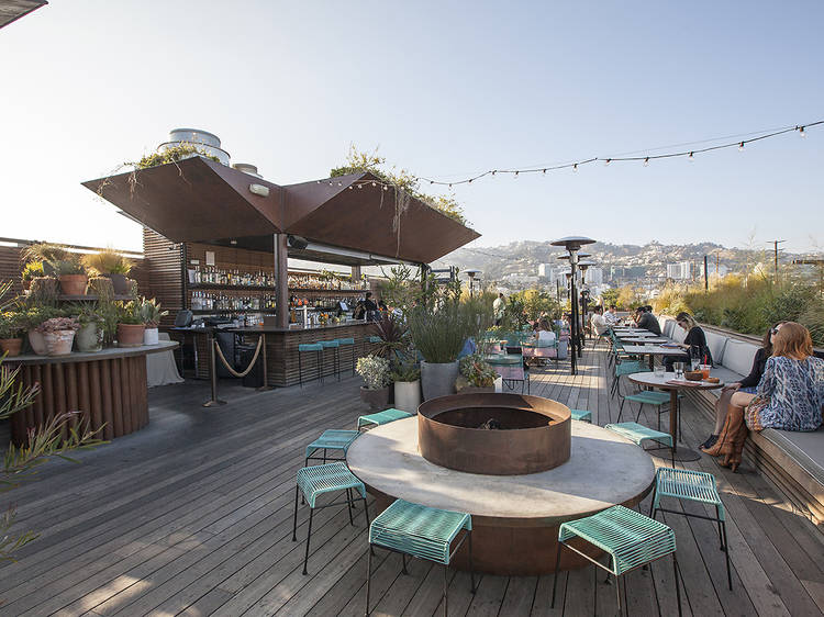 Enjoy an alfresco cocktail (or four) and an amazing view