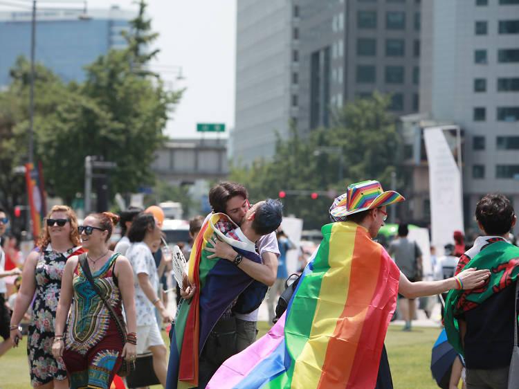 서울의 중심에서 '프라이드'를 외치다!