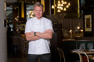 Gordon Ramsay in Bread Street Kitchen
