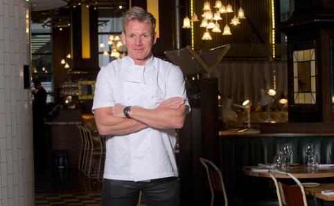 Gordon Ramsay in Bread Street Kitchen