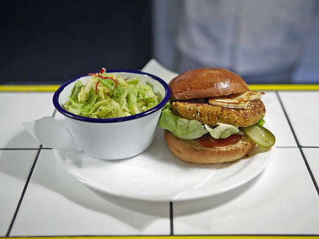 the best veggie burgers in London, The Advisory