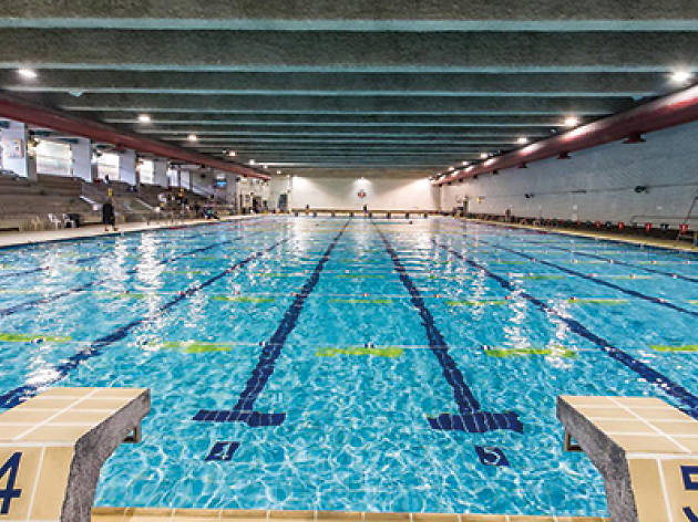 SCAA Swimming Pool shot of lanes