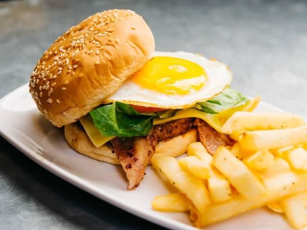 Beef Burger, $8.50