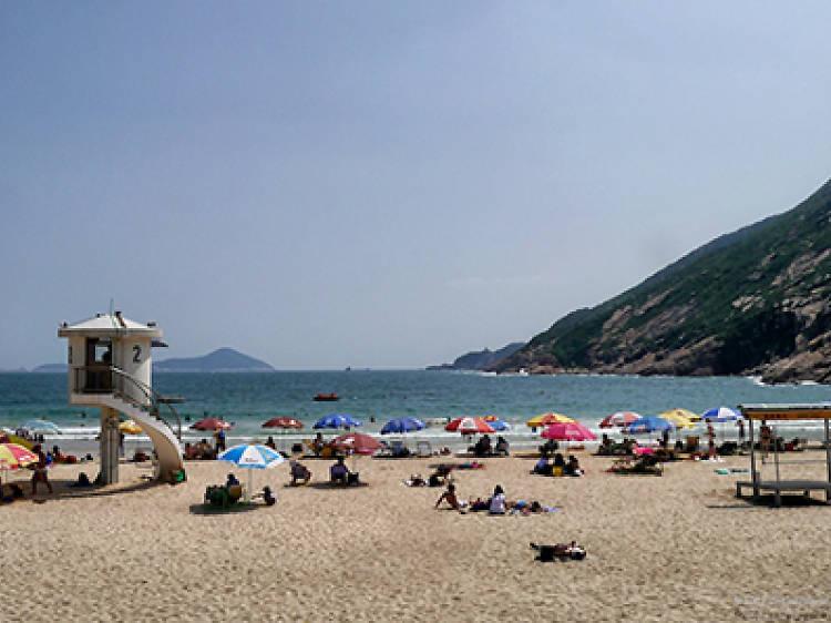 Shek O Main Beach