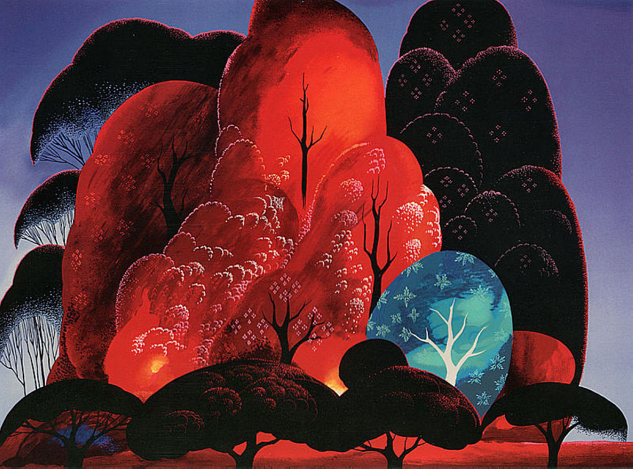 Eyvind Earle: An Exhibit of a Disney Legend
