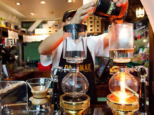 Cafés para tomar sifón japonés