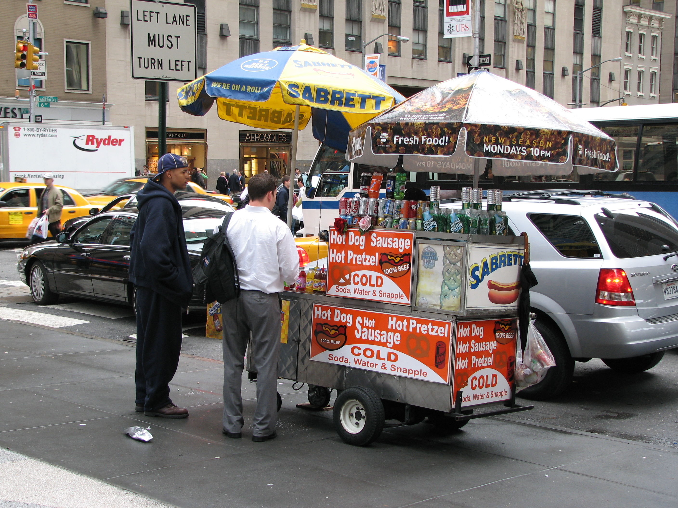 Image result for food cart in ny