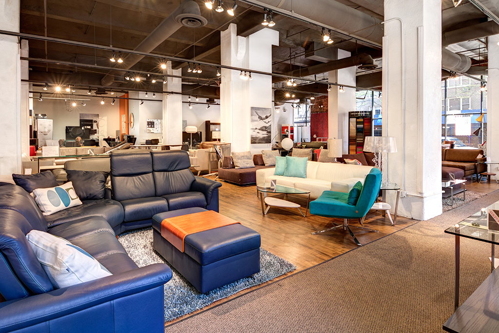 Jensen Lewis. Best furniture stores in NYC for sofas  coffee tables and decor
