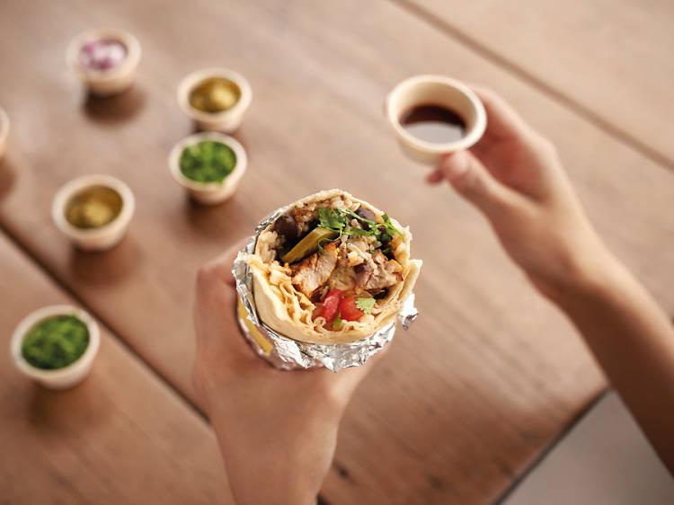 Mini burrito at Guzman Y Gomez