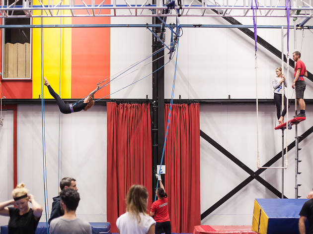 Circus Oz adult classes, circus, Melbourne