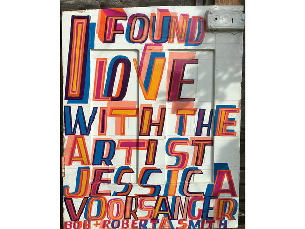 Bob and Roberta Smith 'I Found Love', Foundling Museum, 2016
