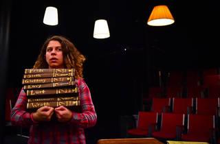 Dana Omar in the Hypocrites' Johanna Faustus