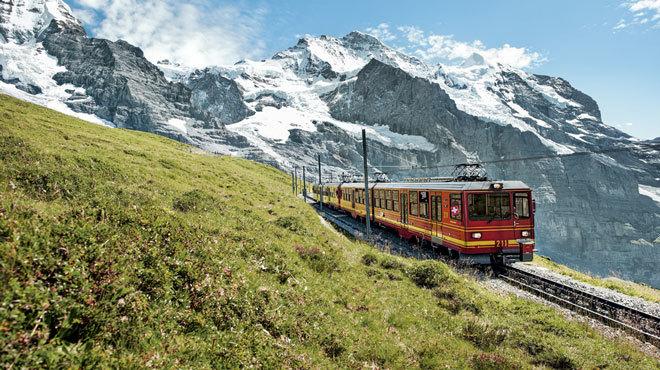The Jungfrau Railway